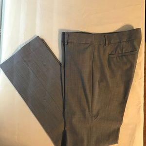 Banana Republic Gray Pinstripe Trouser size 8
